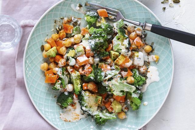Broccoli and Sweet Potato Salad Image 1