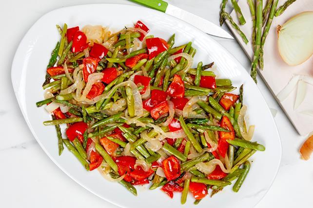 Légumes printaniers grillés Image 1
