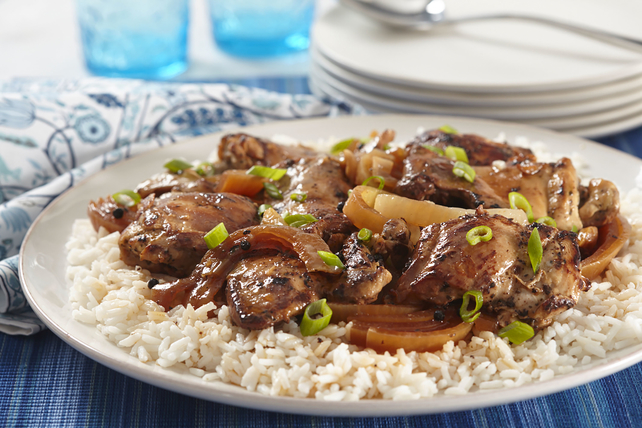 Slow-Cooker Chicken Adobo Image 1