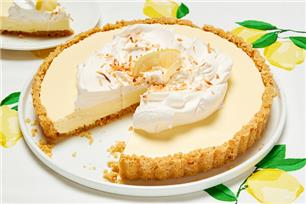 No-Bake Lemon Chiffon Cheesecake
