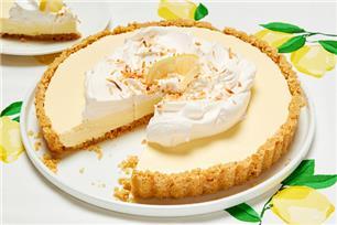 Gâteau au fromage façon mousseline au citron sans cuisson