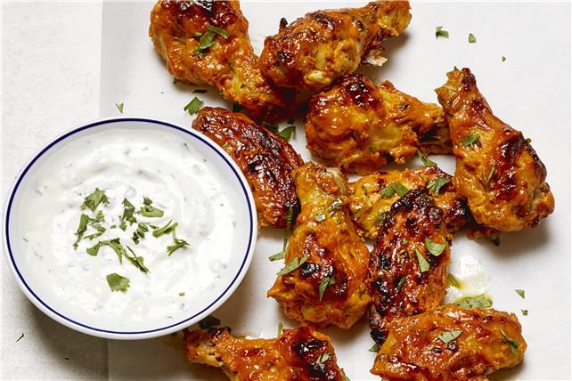 Ailes de poulet style tandoori Image 1