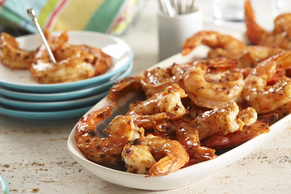 Garlic & Herb Broiled Shrimp