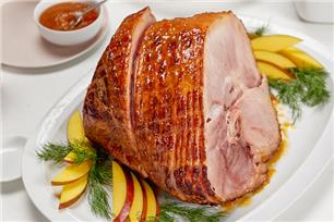 Slow-Cooker Glazed Ham