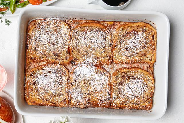 Casserole de pain doré « farci au gâteau aux carottes » Image 1