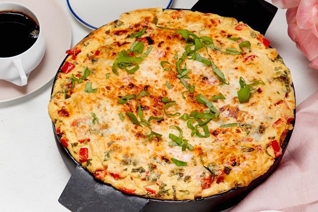 Casserole d'œufs et de fromage façon soufflé Image 1