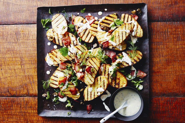 Grilled Potatoes with Bacon Image 1