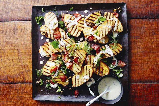 Pommes de terre grillées avec bacon Image 1