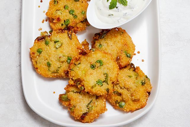 Pea & Quinoa Fritters Image 1