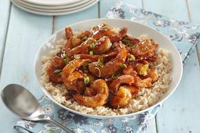 Honey-Garlic Shrimp