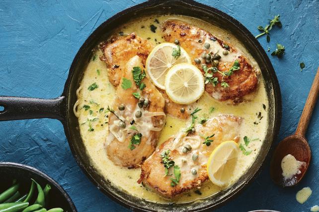 Piccata de poulet sauce crémeuse  Image 1