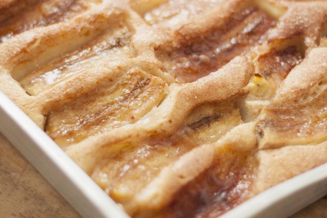 Gâteau aux bananes et à la crème sure Image 1