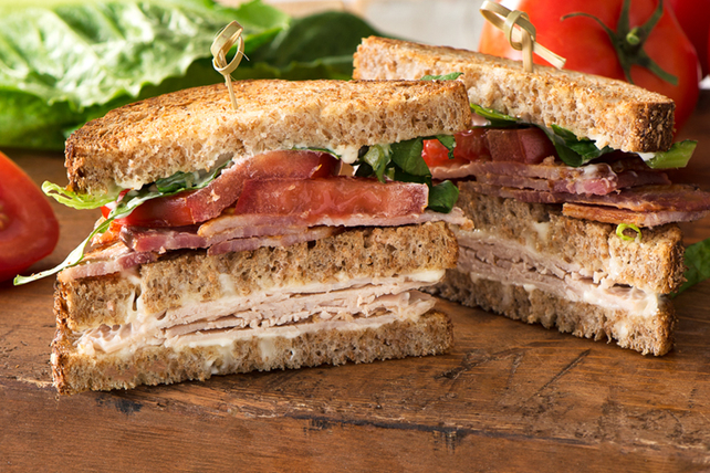 SERIOUSLY GOOD Turkey Club Image 1