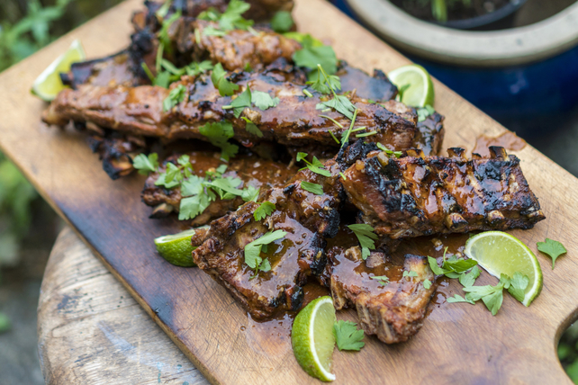 Grilled Chili-Lime Spareribs Image 1