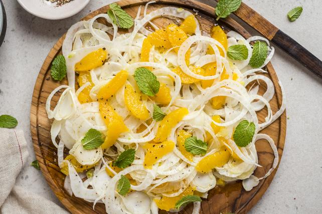 Salade d'orange, de fenouil et de menthe Image 1