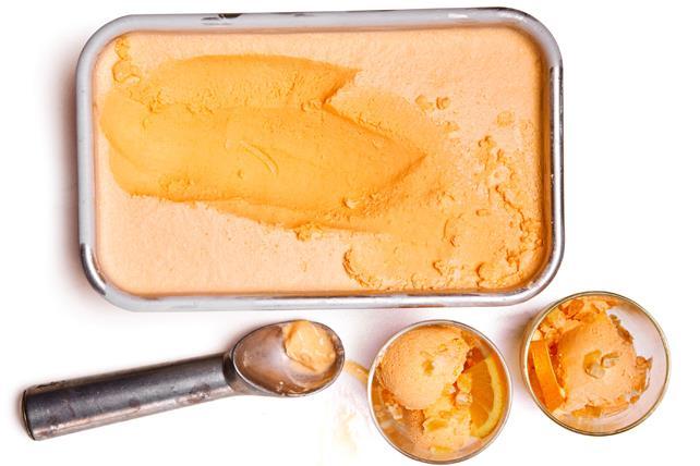 Orange-Ginger Sorbet Image 1