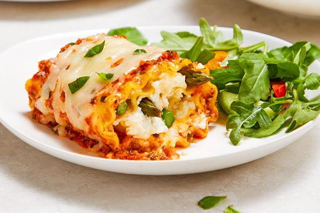 Rouleaux de lasagne aux asperges  Image 1