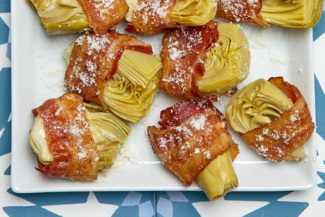 Artichauts enrobés de bacon Image 1