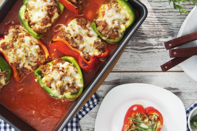 Lasagna-Stuffed Peppers Image 1