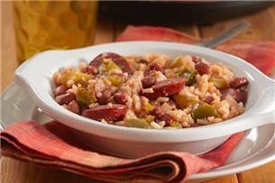 Haricots rouges et riz à la mijoteuse