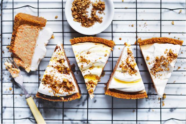 Gâteau au fromage aux carottes et aux pacanes Image 1