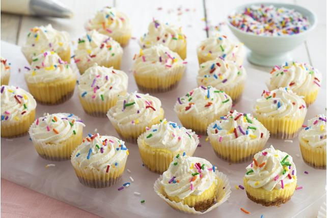 Mini Confetti Cheesecakes Image 1
