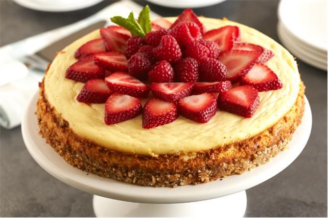 Gâteau au fromage à la poudre d'amandes Image 1