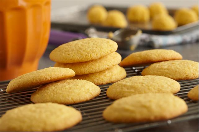 Biscuits à la semoule de maïs Image 1