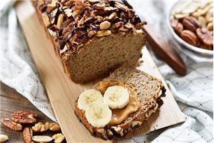 Triple-Nut Banana Bread