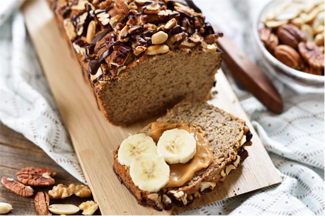 Triple-Nut Banana Bread  Image 1