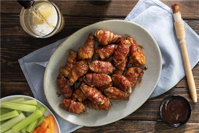 Bacon-Wrapped Chicken Wings Image 1