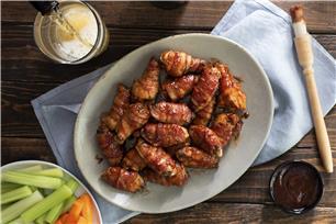 Ailes de poulet enrobées de bacon