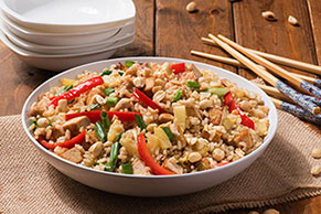 Thai Peanut-Pineapple Fried Rice