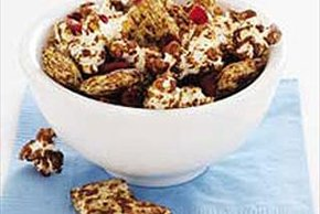 Chocolate Popcorn Trail Mix