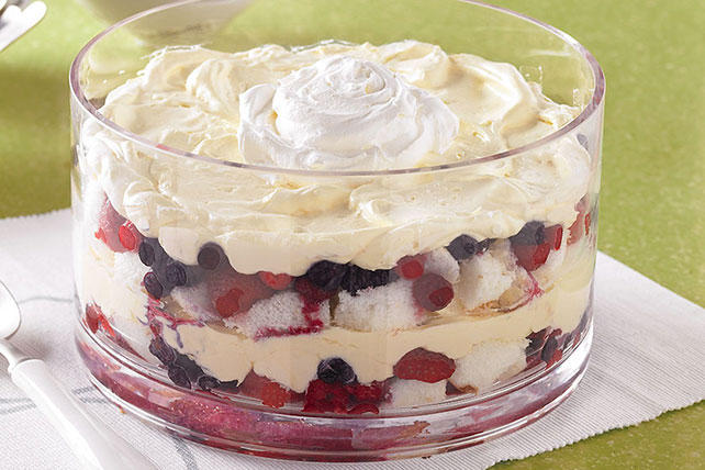 Creamy Layered Fruit Sensation Image 1