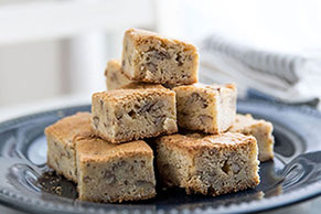 BAKER'S ONE BOWL White Chocolate Blonde Brownies