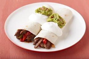 15 Minute Beef Fajitas
