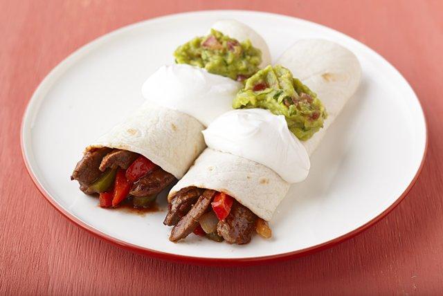 15 Minute Beef Fajitas Image 1