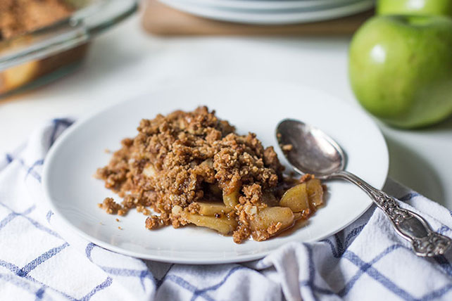 """Just-Like-Mom's"" Apple Crisp Image 1"