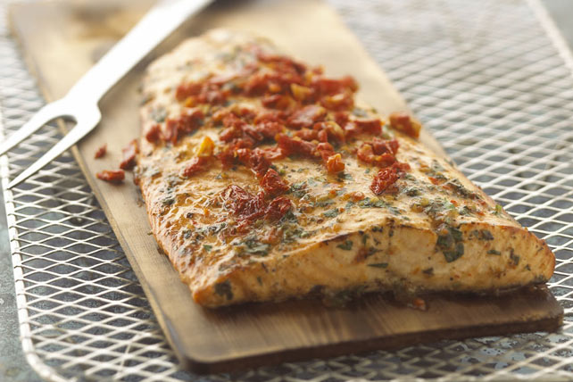 Grilled Cedar-Planked Salmon Image 1