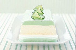 Layered Lemon-Lime Dessert