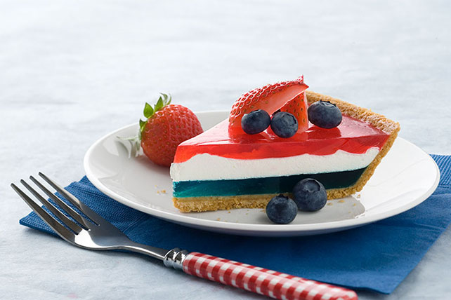 JELL-O Easy Patriotic Pie Image 1
