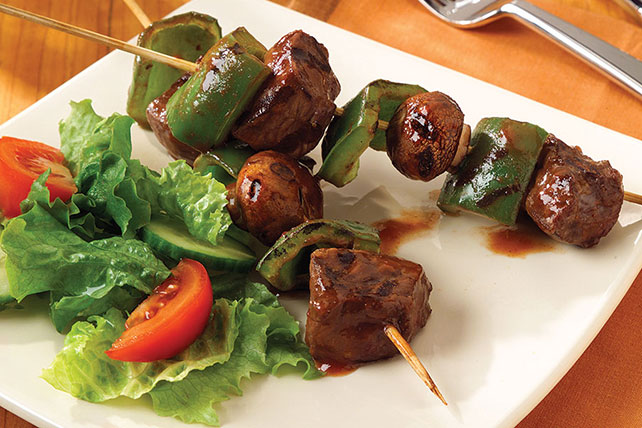 Classic Steak Kabobs Recipe