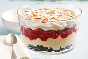 Quick Chocolate-Cherry Trifle