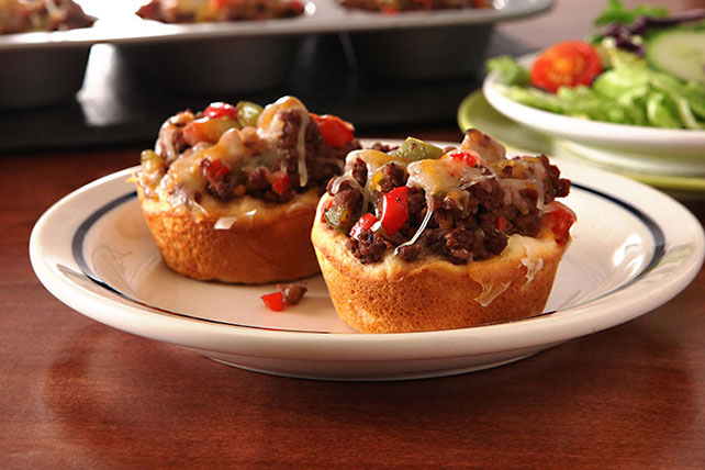 Barbecue Beef-Filled Biscuits - Kraft Recipes