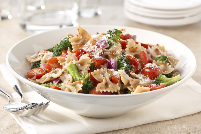 Ensalada de pasta con verduras Image 1