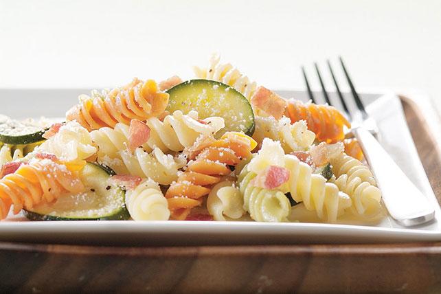 Bacon Zucchini Pasta Image 1