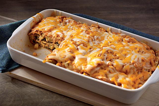 Creamy Chayote & Corn Enchiladas Image 1