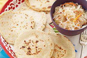 Enchiladas cremosas de chayote y elote