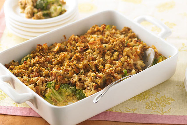 Cheesy Broccoli Casserole Image 1